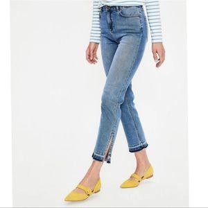 Boden The Salisbury Side Split Jeans